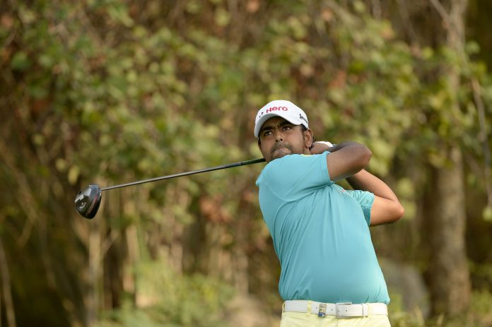 Anirban Lahiri made up for Thursday's disappointment with a much better show during the second round of the Barbasol Championship at Keene Trace Golf Club on Friday. (Photo by PGTI)