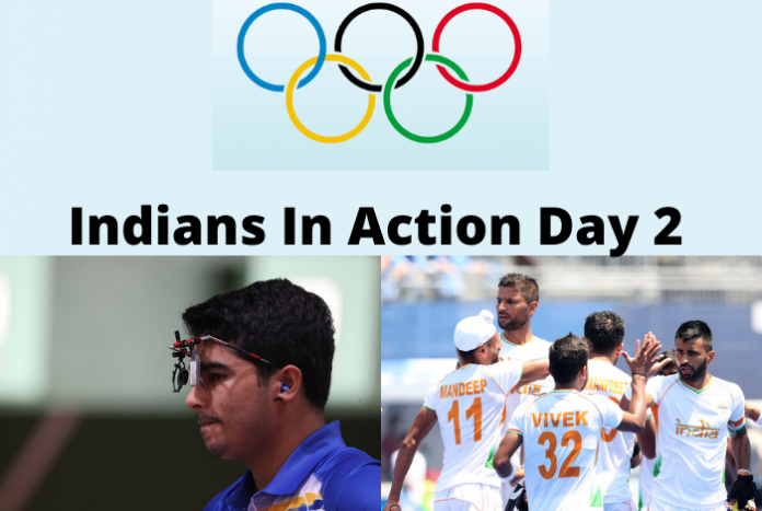 Indians in Action Day 2