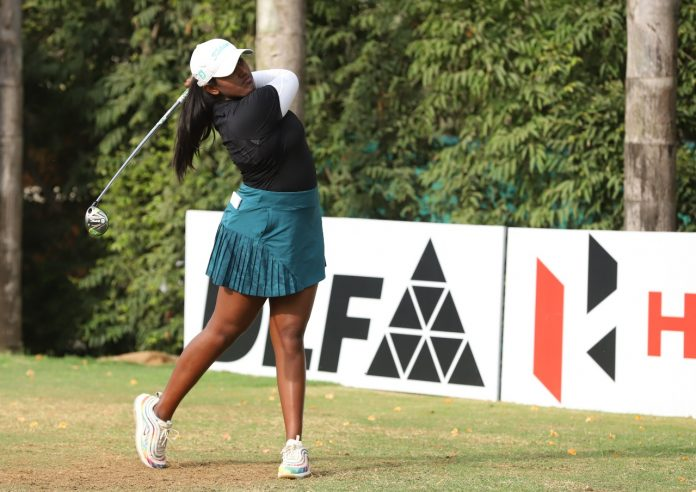Despite the affinity for tennis early on, Oviya Reddi switched to golf, a decision she does not regret. Thegolfinghub Photos by Virendra Singh Gosain.