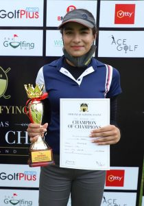 After playing a professional event on the WGAI in March, Riya Yadav has a better understanding of the differences between amateur and pro golf.