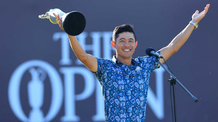 After The Open Championship win on Sunday, Collin Morikawa became the first tto win two Majors in his first attempt. He had won the 2020 PGA Championship. Photo