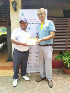 Abhishek won IGU's Amateur Feeder Tour in the mid-amateur category at Tollygunge Club last week.